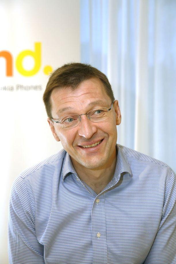 HMD Globalin markkinointijohtaja Pekka Rantala ei suoraan myönnä, että uusia Nokia-älypuhelimia olisi tulossa.