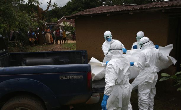 Eniten Ebola-uhreja on Liberiassa.