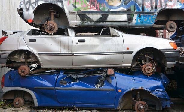 Romutuskampanjassa romutettavan auton on oltava vähintään 10 vuotta vanha.
