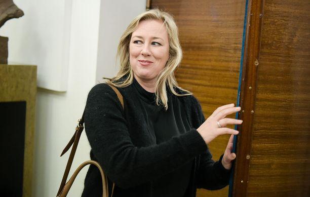 SDP:n kansanedustaja Jutta Urpilainen.