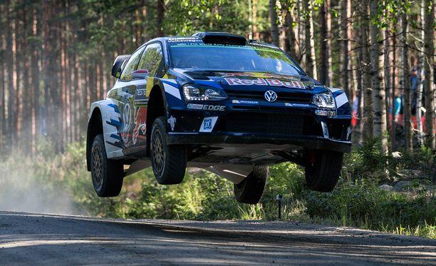 Jari-Matti Latvala oli kuudennen erikoiskokeen nopein kuski.