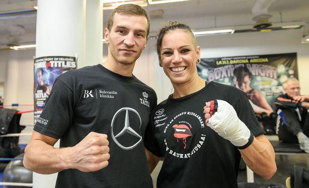 Edis Tatli ja Eva Wahlström ovat tulessa viikon päästä.