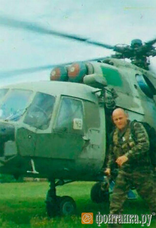 Venäläissivusto Fontanka.ru:n julkaisema kuva, joka esittää väitetysti palkkasotilasjohtaja Dmitri Utkinia.