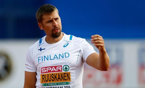 EM-pronssin hintana tullut loukkaantuminen ei estä Antti Ruuskasen olympiamatkaa.