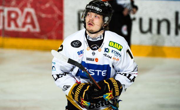 Ville Leskinen tasoitti ylivoimalla.