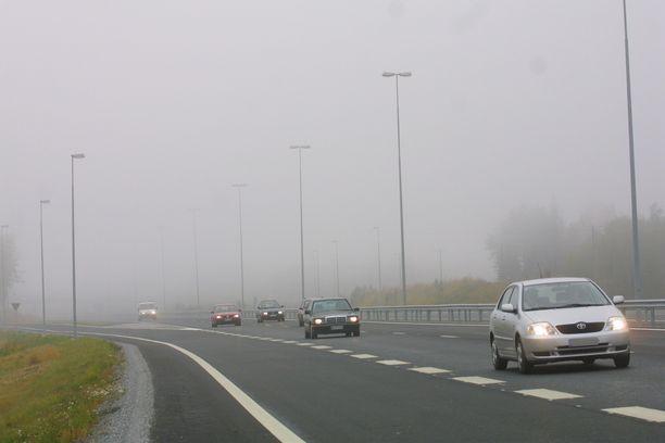 Moottoritiellä kaikki äkkinäiset pysähdykset ovat vaarallisia.