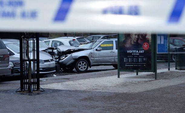 Onnettomuuden jälkeen yhden loukkaantuneen vammat olivat vakavia.