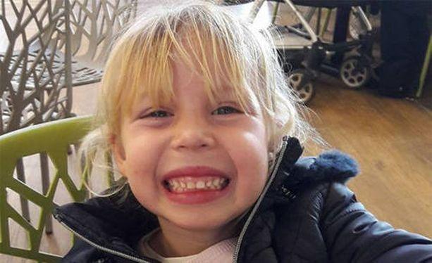 Nelivuotias Isabella on nyt toipumassa.
