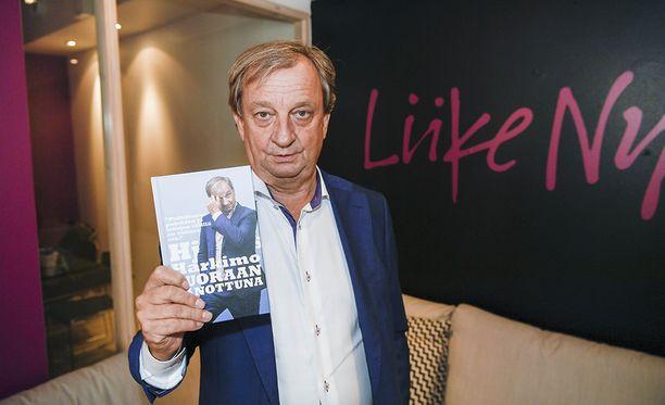Hjallis Harkimon uusi kirja julkistettiin tänään Helsingissä.