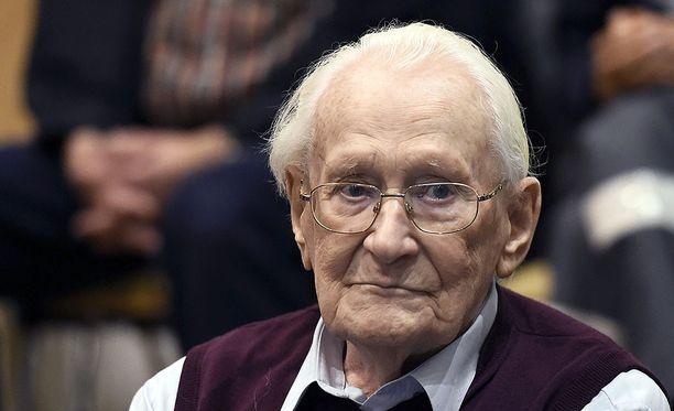 """""""Auschwitzin kirjanpitäjä"""" on myöntänyt syyllisyytensä hirmutekoihin."""