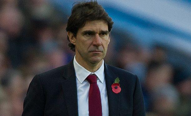 Aitor Karanka on saanut Nottinghamin puolustuspelin kuntoon.