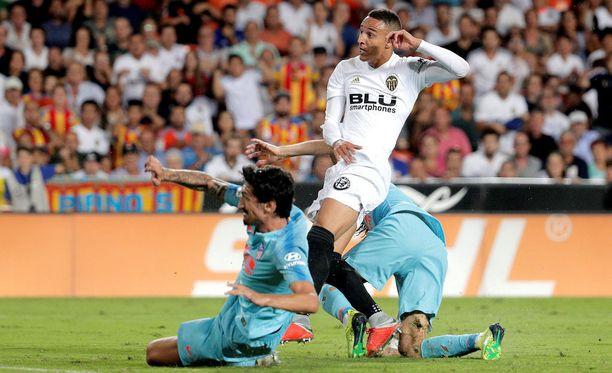 Rodrigo piti madridilaisten puolustusta pilkkanaan.