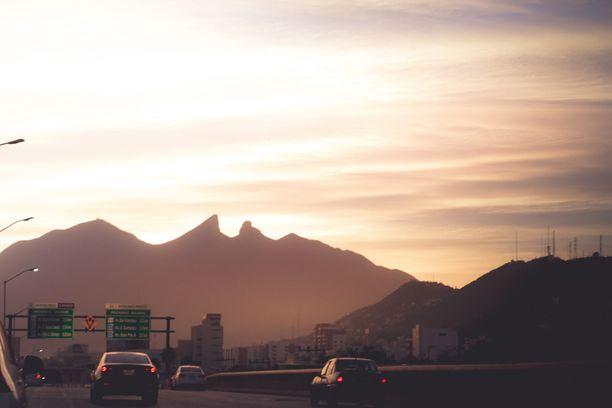 Monterrey sijaitsee Meksikon pohjoisosassa.