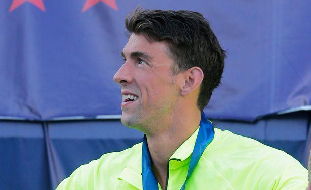 Montako olympiakultaa Michael Phelps on voittanut?
