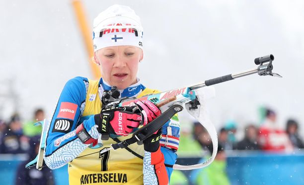 Kaisa Mäkäräinen lähtee hyvistä asetelmista olympialaisiin.
