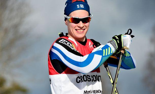 Matti Heikkinen uhkuu menohaluja Tour de Skin alla.