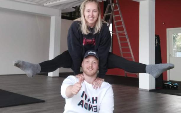 Perttu Remes ja Sofia Keski-Hirvelä yrittävät yhdessä.