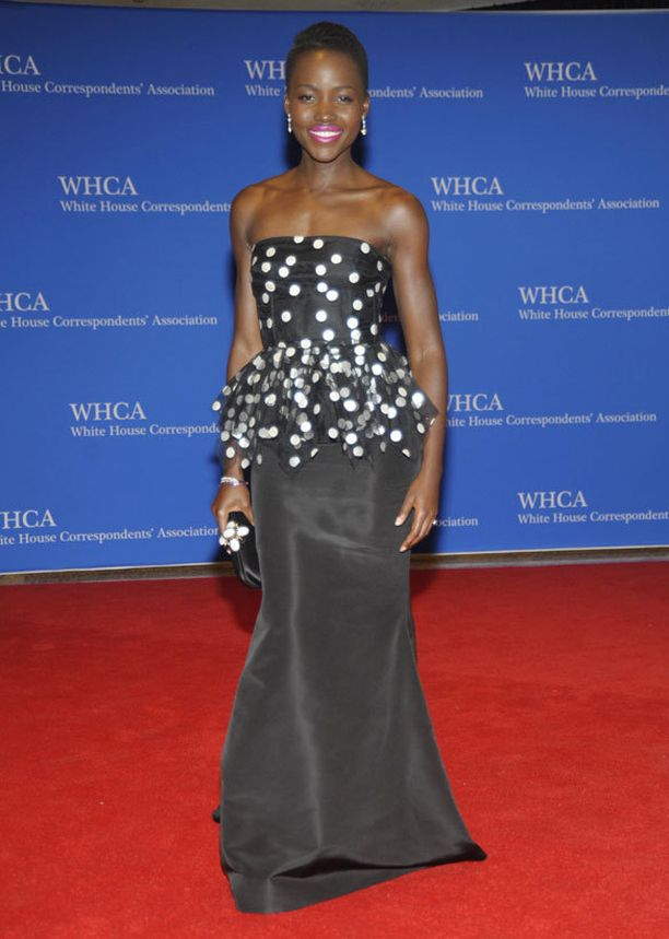 Oscar-voittaja Lupita Nyong'o.