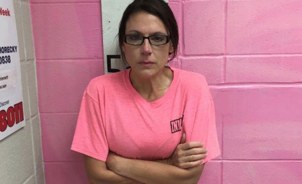Nicole Aymond on vangittu Louisinassa.