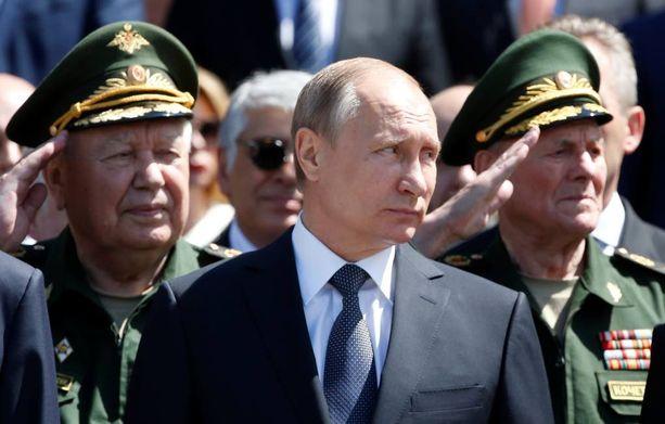 Vladimir Putin oli Kremlissä viettämässä 75. vuosipäivää siitä, kun Natsi-Saksa hyökkäsi Neuvostoliiton alueelle.