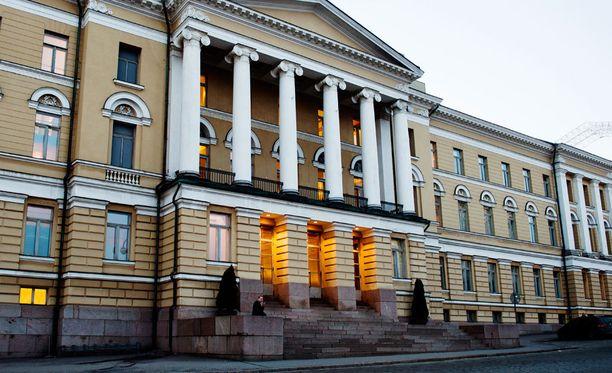 Helsingin yliopisto on kerännyt eniten lahjoituksia.