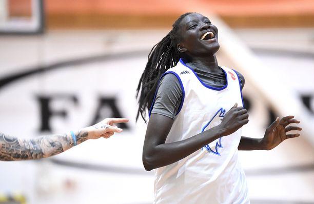 Awak Kuier haluaa olla esikuva suomalaisille koripalloilijoille.