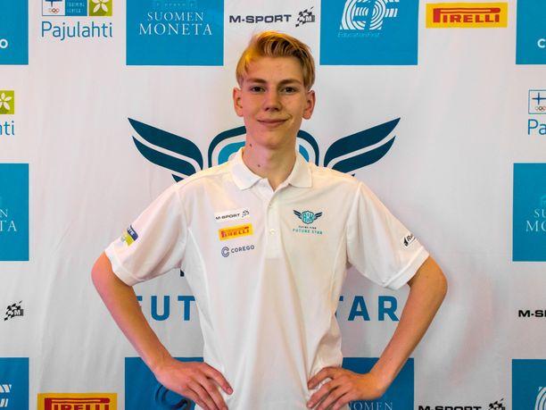 Sami Pajari voitti AKK:n Flying Finn Future Star -