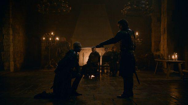 Briennestä tuli ritari.
