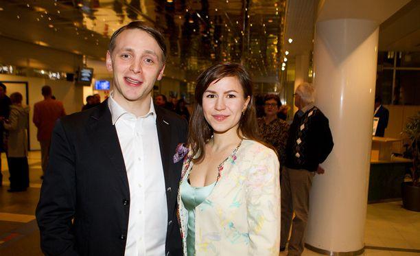 Reino ja Maria Nordinin perheeseen kuuluu kolme lasta.