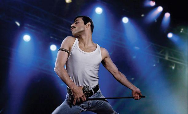 Bohemian Rhapsody -elokuvassa Freddie Mercuryä esittää Rami Malek.