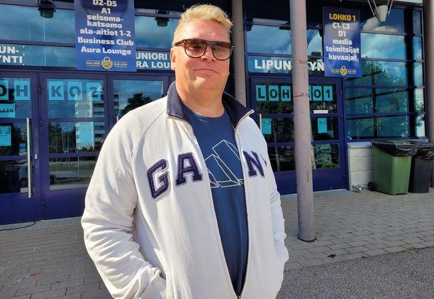 Pekka Virta palasi torstaina Raumalle, nyt SaiPan valmentajana.