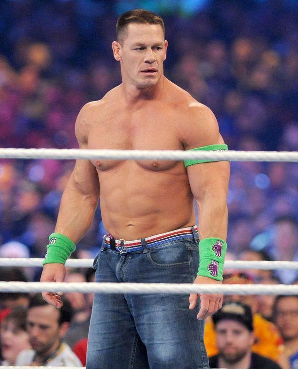 John Cena on yksi USA:n tunnetuimmista showpainijoista.