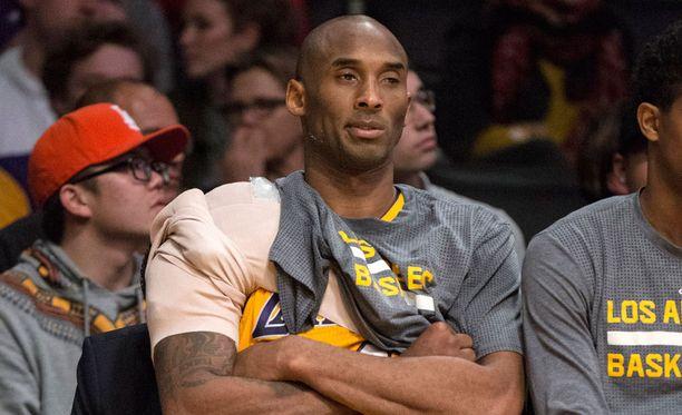 Kobe Bryant pelaa viimeistä kauttaan NBA:ssa.