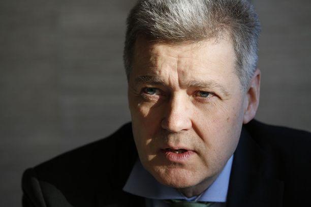Ylen toimitusjohtaja Lauri Kivinen kertoi tammikuussa jättävänsä Ylen. KUVA: LAURI KIVINEN/KL.