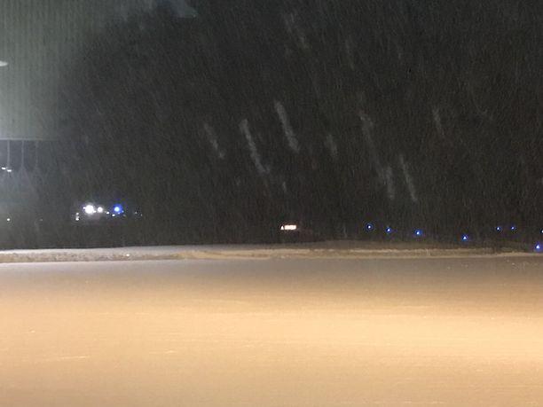Sää oli onnettomuuden aikaan Savonlinnassa varsin luminen.