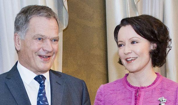 Presidentti Sauli Niinistö ja rouva Jenni Haukio ovat tunnettuja kirjallisuuden ystäviä.