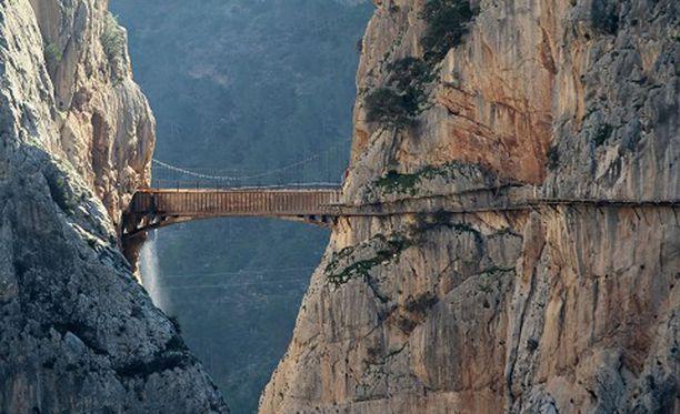El Caminito del Rey on vaatinut monen kulkijan hengen.