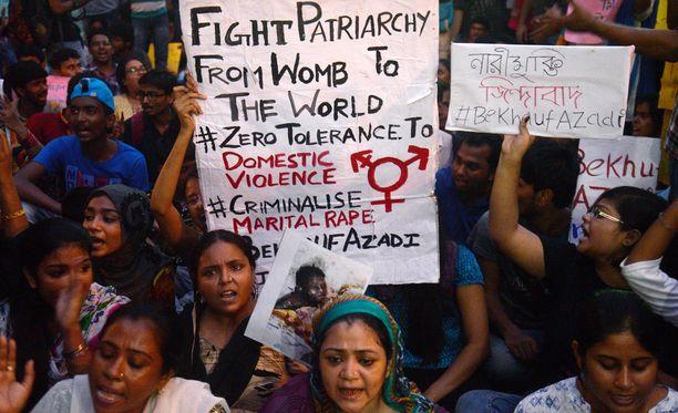 Intia on pysynyt kansainvälisissä otsikoissa seksuaalisen väkivallan vuoksi.