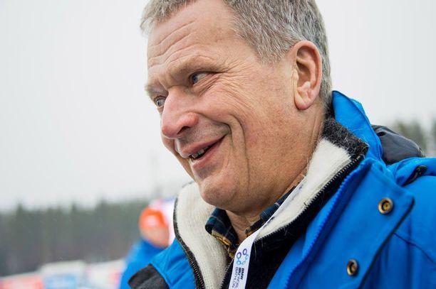 Presidentti Sauli Niinistö nosti Venäjän-vierailulla esiin Ukrainan kriisin.