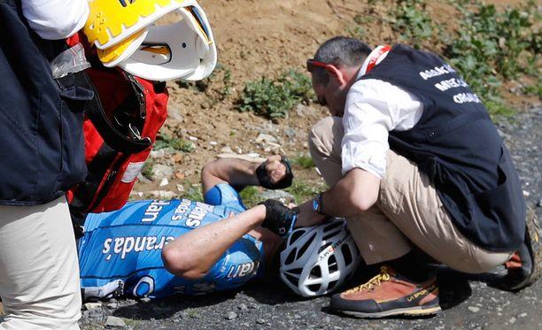 Michael Goolaerts löydettiin tajuttomana tien varresta.