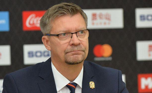 Jukka Jalosen miehistö hävisi taas maalilla.