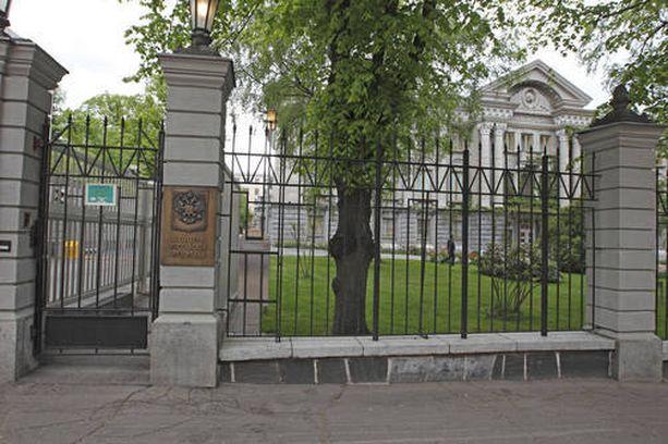 Pavel Kuznetsovin uusi työpaikka sijaitsee Tehtaankadulla Venäjän Suomen-suurlähetystön kanssa.