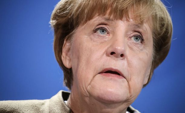 Liittokansleni Angela Merkel piti tiedostilaisuuden tänään Berliinissä.