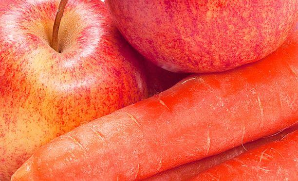 Porkkana vai omena? Hyviä kumpikin, mutta toinen on vielä parempi.