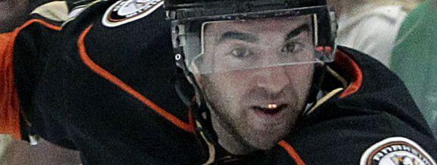 Kyle Palmieri on Anaheim Ducksin lupaavin nuori hyökkääjä.