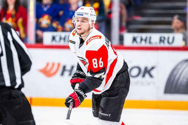 Sven Andrighetolle riitti vain yksi kausi KHL;ssä.