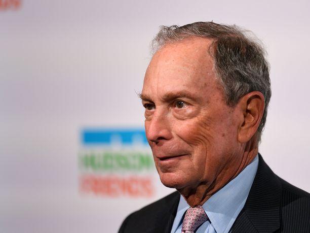 New Yorkin entinen pormestari Michael Bloomberg ei ole vielä tehnyt lopullista päätöstä presidentiksi pyrkimisestä.