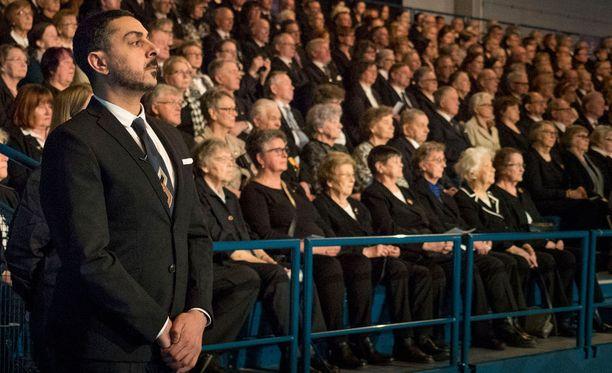 Armanin kunnioitus sotaveteraaneja kohtaan on valtaisa.