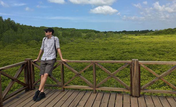 Tero Salmén piipahti joulukuussa Rayongin provinssissa Tung Prong Thong -luonnonsuojelualueella.