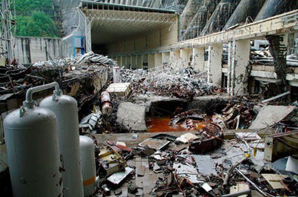 Sajano-Shushenskajan voimalassa sattui onnettomuus maanantaina.